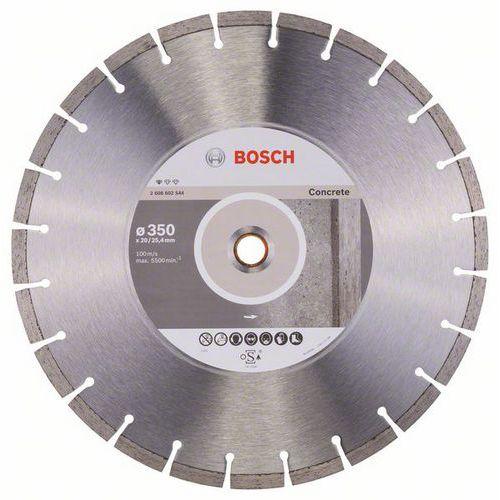 Bosch - Diamantový řezný kotouč Standard for Concrete 350 x 20/2