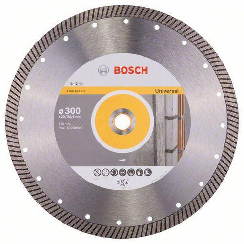 Bosch - Diamantový řezný kotouč Best for Universal Turbo 300 x 2