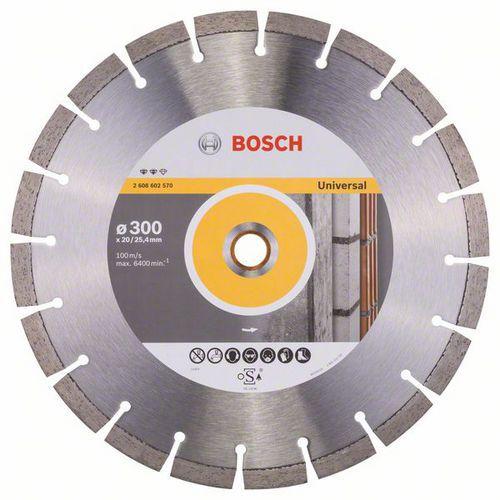 Bosch - Diamantový řezný kotouč Expert for Universal 300 x 20/25