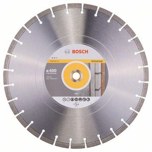 Bosch - Diamantový řezný kotouč Expert for Universal 400 x 20/25,40 x 3,2 x 12 mm