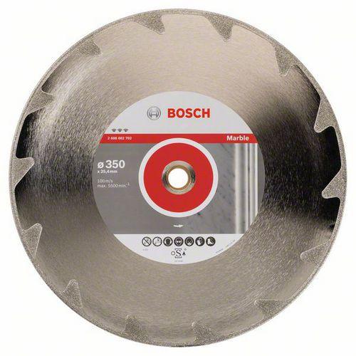 Bosch - Diamantový řezný kotouč Best for Marble 350 x 25,40 x 2,