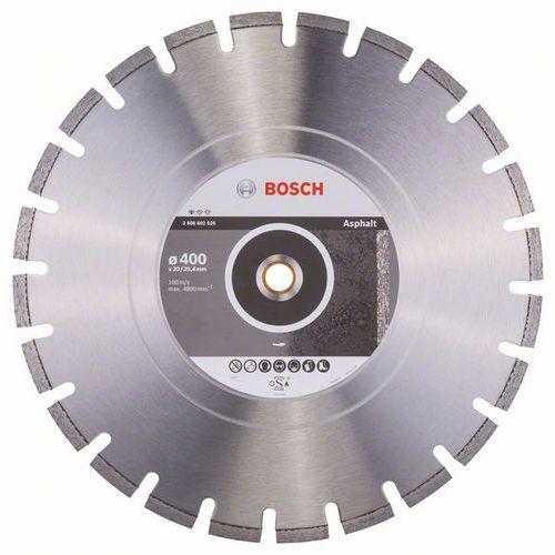 Bosch - Diamantový řezný kotouč Standard for Asphalt 400 x 20/25,40 x 3,6 x 10 mm