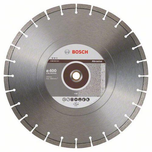 Bosch - Diamantový řezný kotouč Expert for Abrasive 400 x 20,00+25,40 x 3,2 x 12 mm