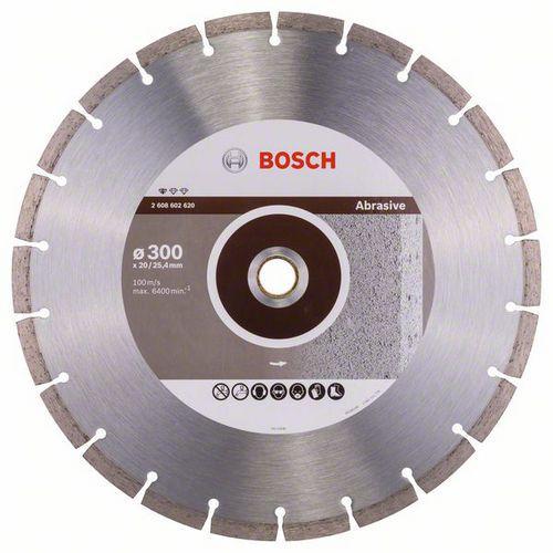 Bosch - Diamantový řezný kotouč Standard for Abrasive 300 x 20/2