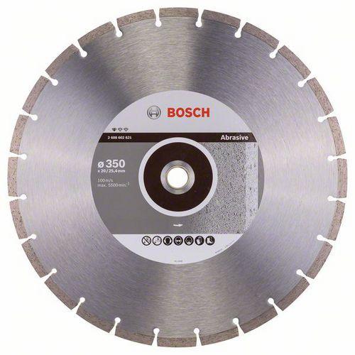 Bosch - Diamantový řezný kotouč Standard for Abrasive 350 x 20/2