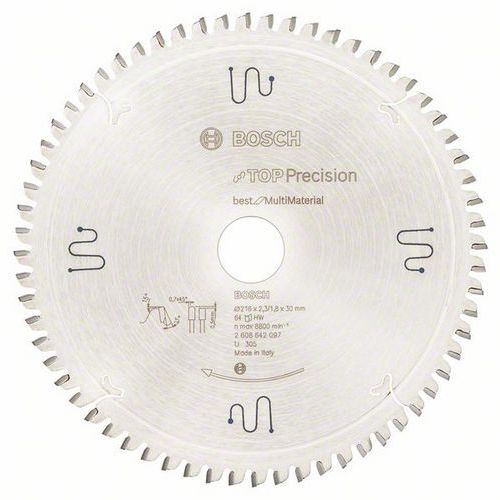 Bosch - Pilový kotouč do okružních pil Top Precision Best for Mu