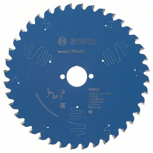 Bosch - Pilový kotouč Expert for Wood 216 x 30 x 2,4 mm, 40