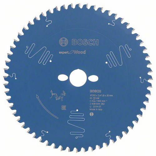 Bosch - Pilový kotouč Expert for Wood 260 x 30 x 2,4 mm, 60