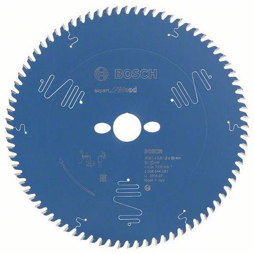 Bosch - Pilový kotouč Expert for Wood 260 x 30 x 2,8 mm, 80