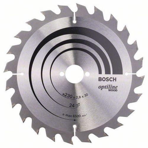 Bosch - Pilový kotouč Optiline Wood 230 x 30 x 2,8 mm, 24