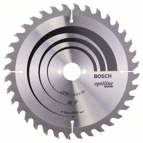 Bosch - Pilový kotouč Optiline Wood 230 x 30 x 2,8 mm, 36