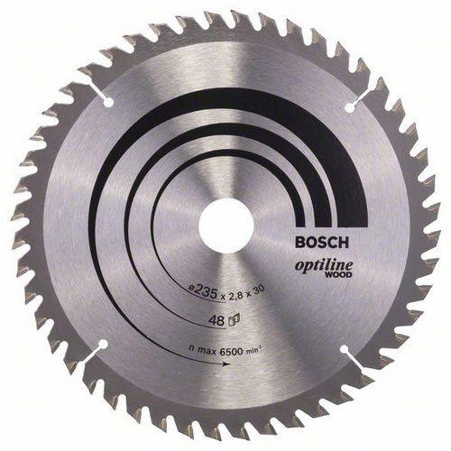 Bosch - Pilový kotouč Optiline Wood 235 x 30/25 x 2,8 mm, 48