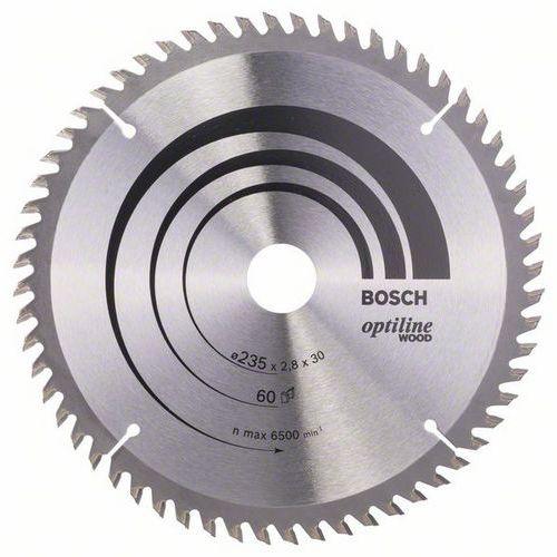 Bosch - Pilový kotouč Optiline Wood 235 x 30/25 x 2,8 mm, 60