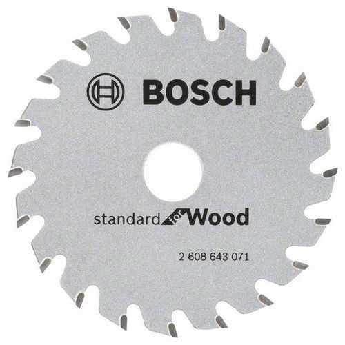 Bosch - Pilový kotouč Optiline Wood 85 x 15 x 1,1 mm, 20