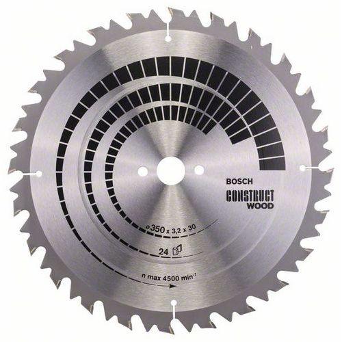 Bosch - Pilový kotouč Construct Wood 350 x 30 x 3,2 mm; 24