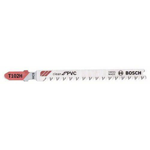 Bosch - Pilový plátek pro kmitací pily T 102 H Clean for PVC, 3ks x 10 BAL