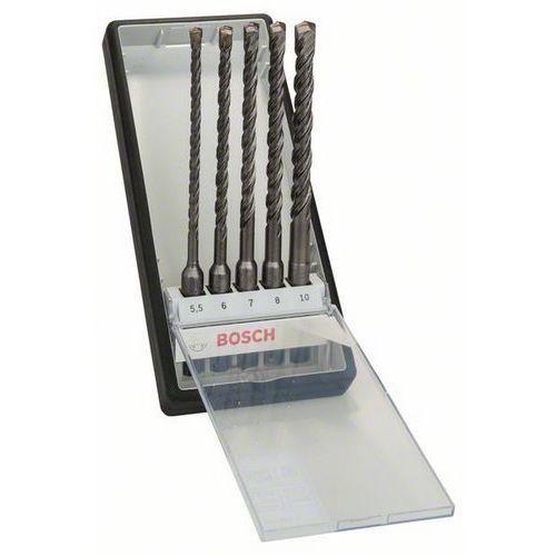 Bosch - 5dílná sada vrtáků do kladiv Robust Line SDS-plus-5 O 5,5,6,7,8,10 x 165mm