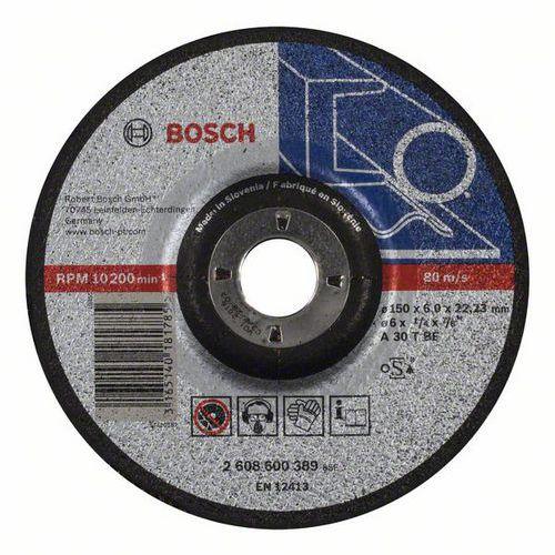 Bosch - Hrubovací kotouč profilovaný Expert for Metal A 30 T BF, 150 mm, 6,0 mm, 10 BAL