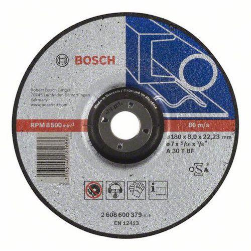 Bosch - Hrubovací kotouč profilovaný Expert for Metal A 30 T BF, 180 mm, 8,0 mm, 10 BAL