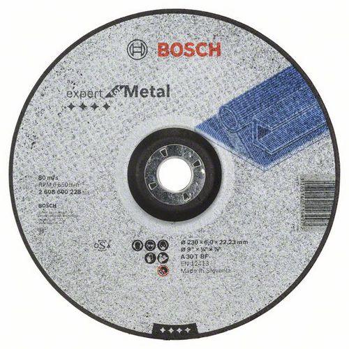 Bosch - Hrubovací kotouč profilovaný Expert for Metal A 30 T BF, 230 mm, 6,0 mm, 10 BAL