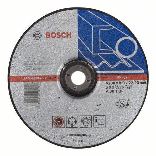 Bosch - Hrubovací kotouč profilovaný Expert for Metal A 30 T BF, 230 mm, 8,0 mm, 10 BAL