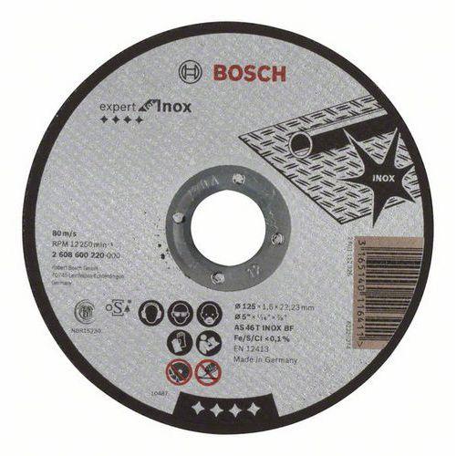 Bosch - Řezný kotouč rovný Expert for Inox AS 46 T INOX BF, 125