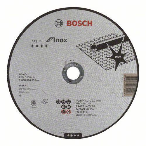 Bosch - Řezný kotouč rovný Expert for Inox AS 46 T INOX BF, 230 mm, 2,0 mm, 25 BAL