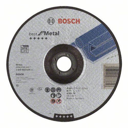 Bosch - Řezný kotouč profilovaný Best for Metal A 30 V BF, 180 mm, 2,5 mm, 25 BAL
