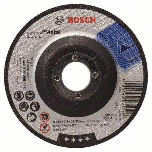 Bosch - Řezný kotouč profilovaný Expert for Metal A 30 S BF, 115 mm, 2,5 mm, 25 BAL