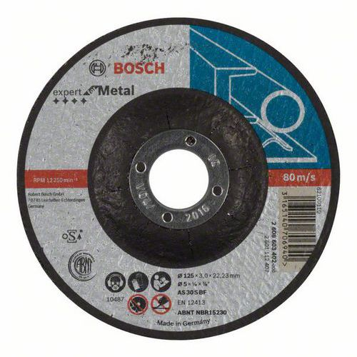 Bosch - Řezný kotouč profilovaný Expert for Metal AS 30 S BF, 125 mm, 3,0 mm, 25 BAL