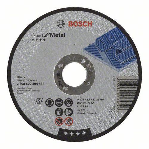 Bosch - Řezný kotouč rovný Expert for Metal A 30 S BF, 125 mm, 2,5 mm, 25 BAL