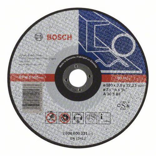 Bosch - Řezný kotouč rovný Expert for Metal A 30 S BF, 180 mm, 3,0 mm, 25 BAL