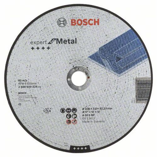 Bosch - Řezný kotouč rovný Expert for Metal A 30 S BF, 230 mm, 3,0 mm, 25 BAL