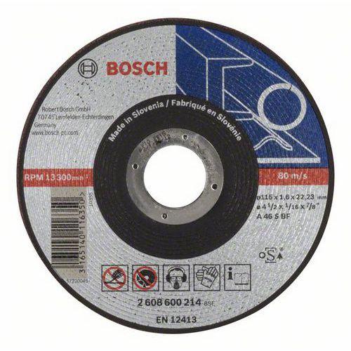 Bosch - Řezný kotouč rovný Expert for Metal AS 46 S BF, 115 mm, 1,6 mm, 25 BAL