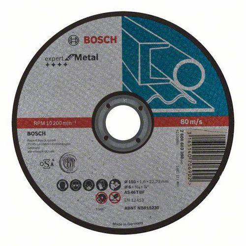 Bosch - Řezný kotouč rovný Expert for Metal AS 46 T BF, 150 mm, 1,6 mm, 25 BAL