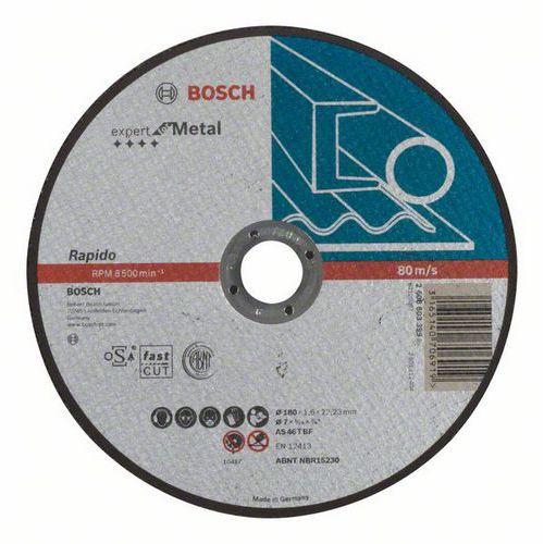 Bosch - Řezný kotouč rovný Expert for Metal - Rapido AS 46 T BF, 180 mm, 1,6 mm, 25 BAL