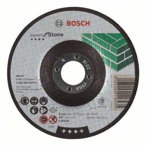 Bosch - Řezný kotouč profilovaný Expert for Stone C 24 R BF, 125 mm, 2,5 mm, 25 BAL