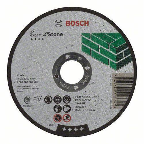 Bosch - Řezný kotouč rovný Expert for Stone C 24 R BF, 125 mm, 2,5 mm, 25 BAL