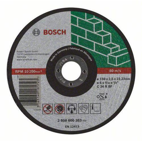 Bosch - Řezný kotouč rovný Expert for Stone C 24 R BF, 150 mm, 2,5 mm, 25 BAL