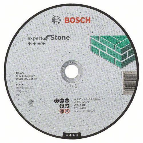 Bosch - Řezný kotouč rovný Expert for Stone C 24 R BF, 230 mm, 3,0 mm, 25 BAL