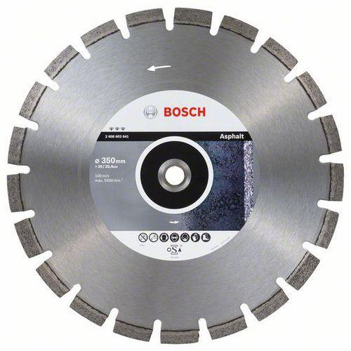 Bosch - Diamantový řezný kotouč Best for Asphalt 350 x 20/25,40