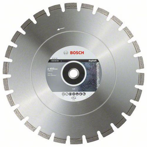 Bosch - Diamantový řezný kotouč Best for Asphalt 450 x 25,40 x 3