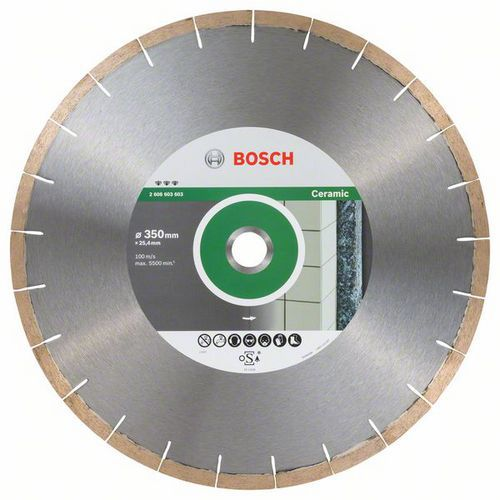 Bosch - Diamantový řezný kotouč Best for Ceramic and Stone 350 x