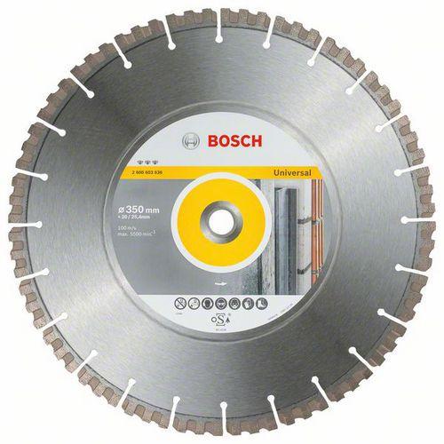Bosch - Diamantový řezný kotouč Best for Universal 350 x 20/25,4