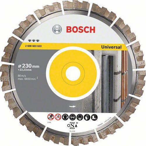 Bosch - Diamantový řezný kotouč Best for Universal 400 x 20/25,40 x 3,3 x 15 mm