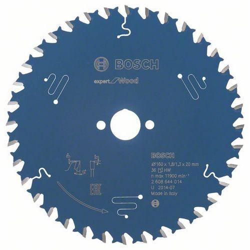Bosch - Pilový kotouč Expert for Wood 160 x 20 x 1,8 mm, 36