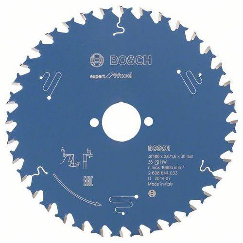 Bosch - Pilový kotouč Expert for Wood 180 x 30 x 2,6 mm, 36