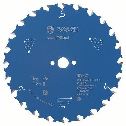 Bosch - Pilový kotouč Expert for Wood 184 x 16 x 2,6 mm, 24