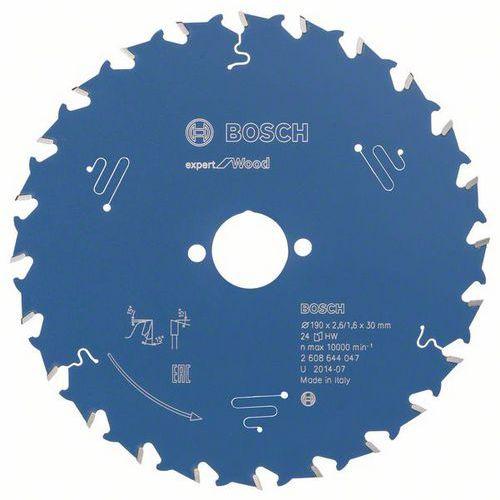 Bosch - Pilový kotouč Expert for Wood 190 x 30 x 2,6 mm, 24