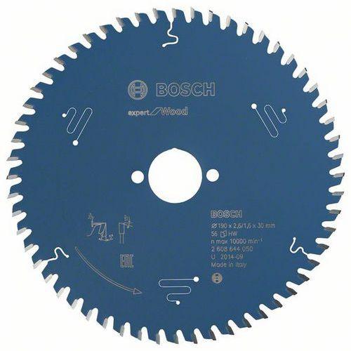 Bosch - Pilový kotouč Expert for Wood 190 x 30 x 2,6 mm, 56